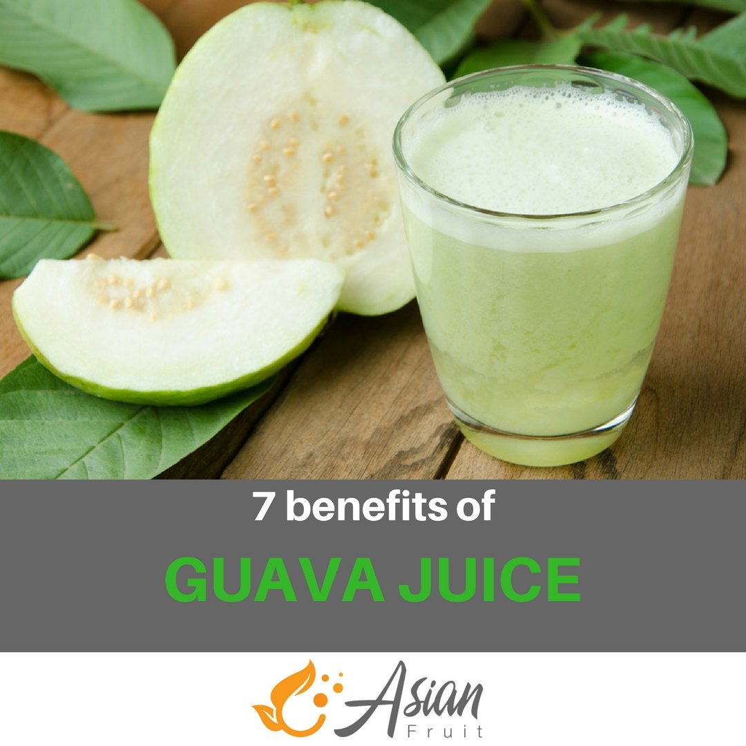7 benefits of guava juice
