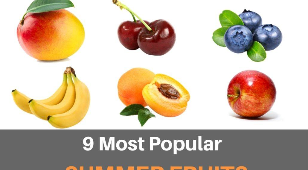 9 summer fruits AFW