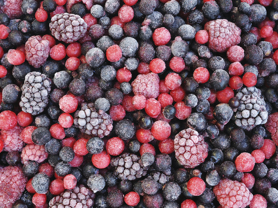 FROZEN FRUITS BERRIES