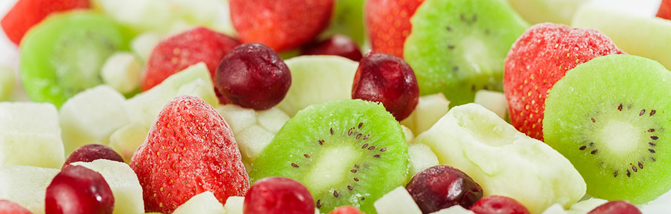 frozen fruits kiwi