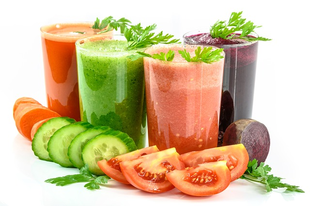 8 kinds vegetable juice asian fruit world