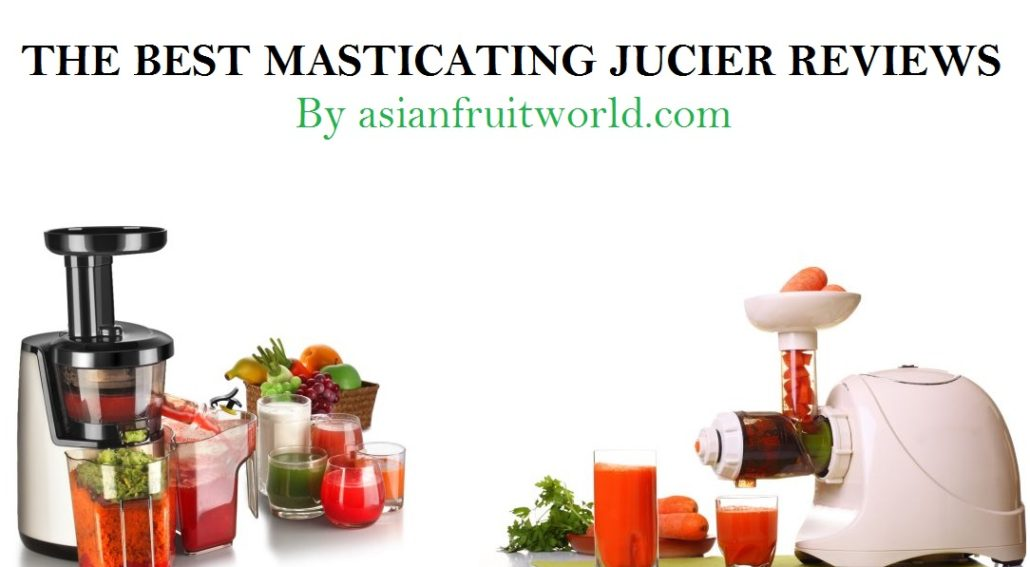 the best masticating juicer