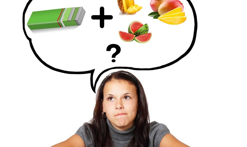 gum with fruits weight loss