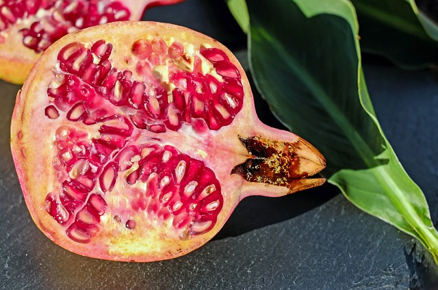 pomegranate fruits for winter