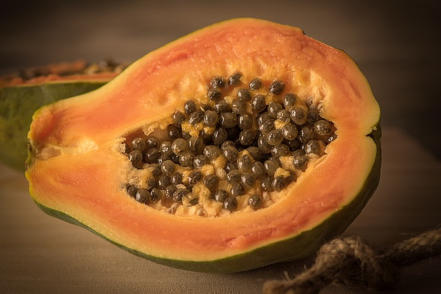 papaya reduce fever