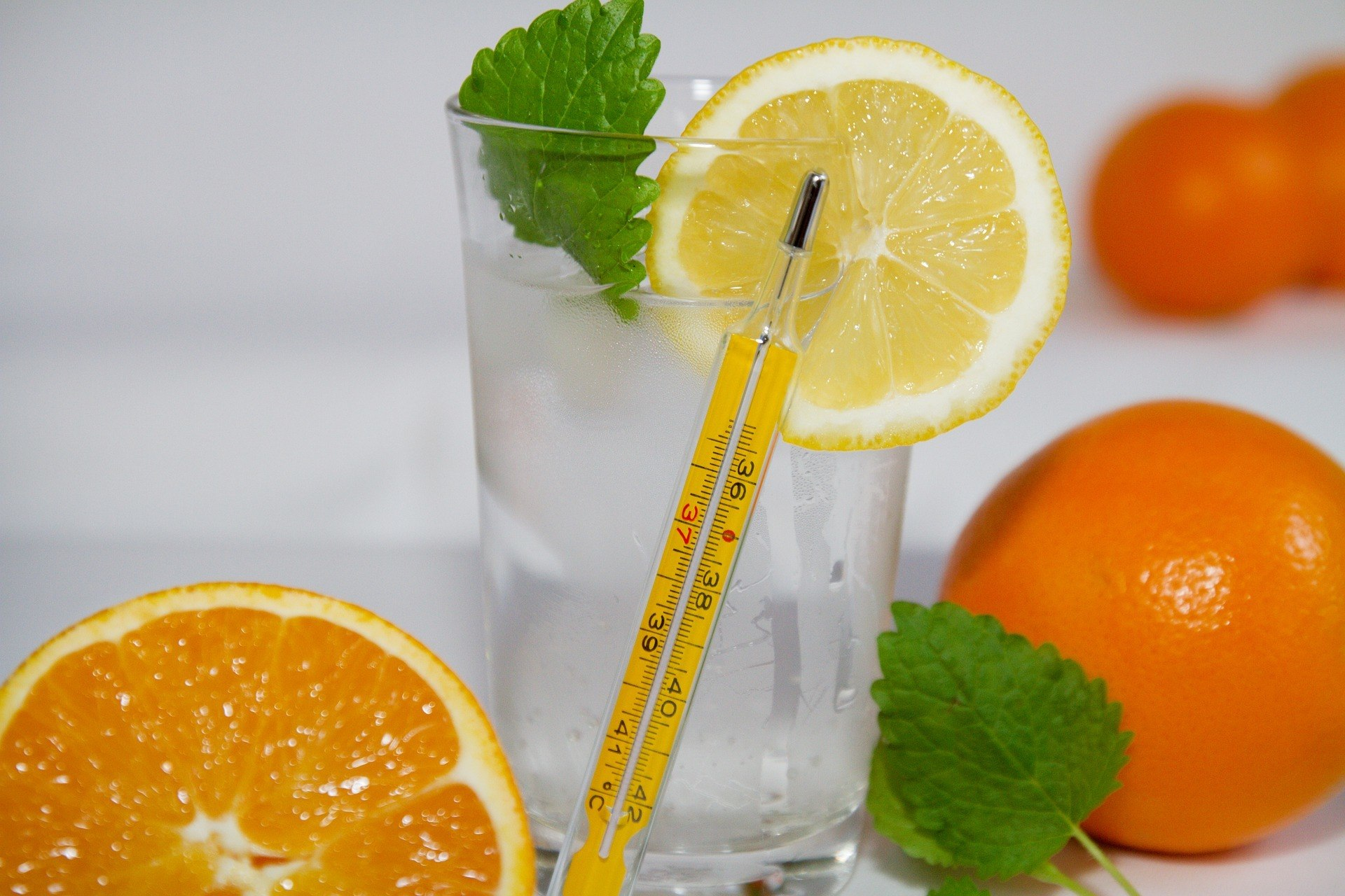 orange juice best fruits for fever