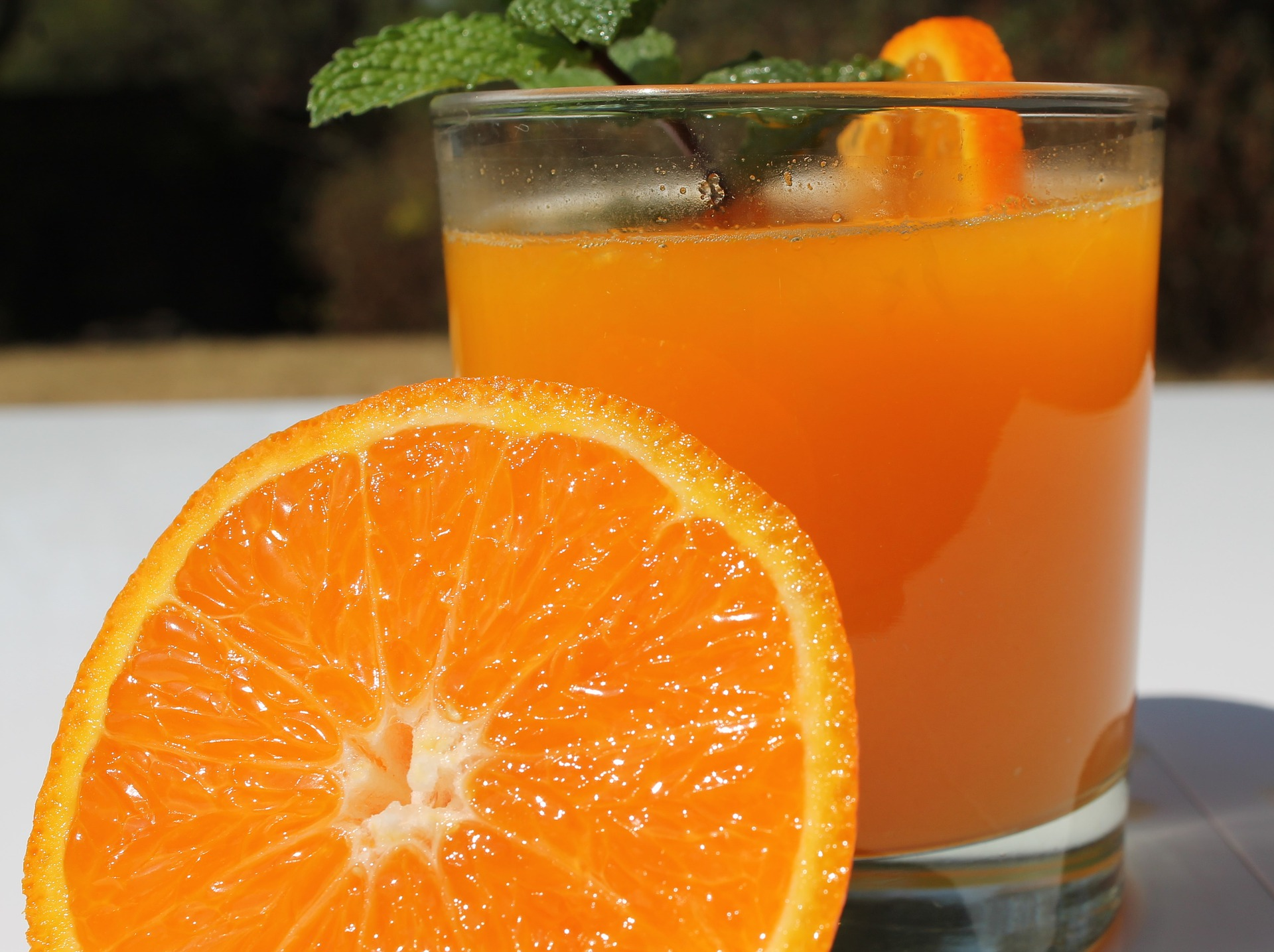 orange juice best juice for weight loss