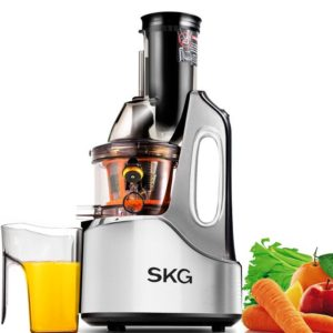 white skg best masticating juicer