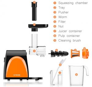 nutrihome best masticating juicer 2