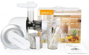 simpletaste best masticating juicer 8