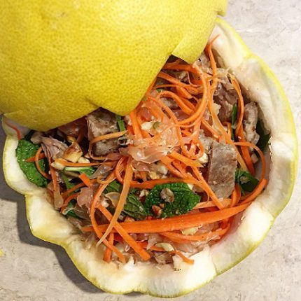how to lose weight with pomelo salad